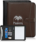 Pebble Grain 11 X 8.5 Zippered Portfolios